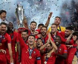 Portugal hizo una gran donación. EFE