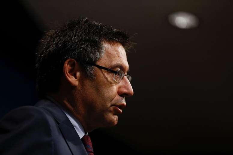 Bartomeu talked about the latest news at Barca. EFE