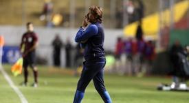 Ven a Heinze como técnico de Argentina. EFE