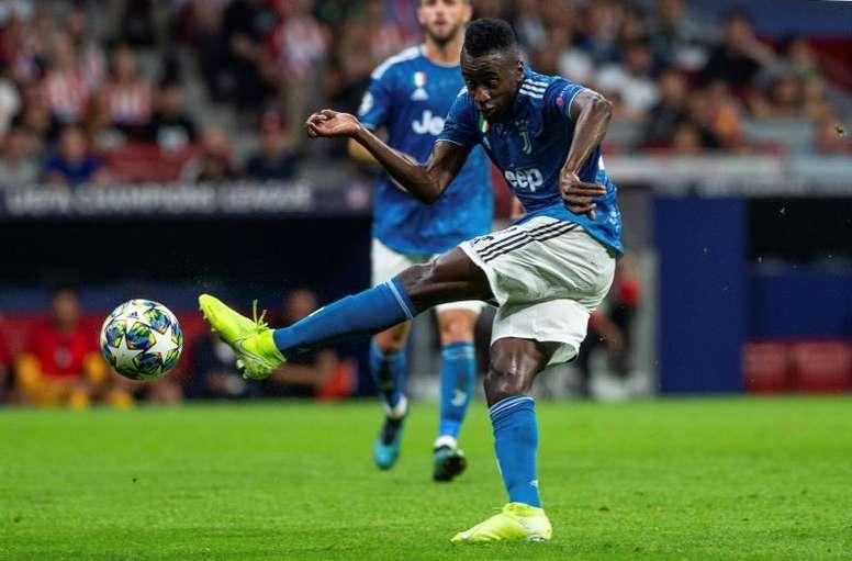 Matuidi résilie son contrat avec la Juventus. EFE