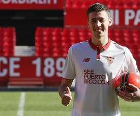 El TAS condenó al Sevilla a pagar por Lenglet. EFE
