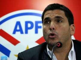Paraguay suspendió todas las divisiones inferiores. EFE