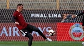 Armani baraja seguir para llegar bien al Mundial de Catar. EFE