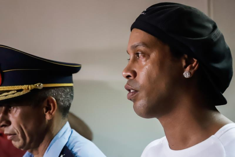 Ronaldinho 'totally surprised' by arrest for fake documents