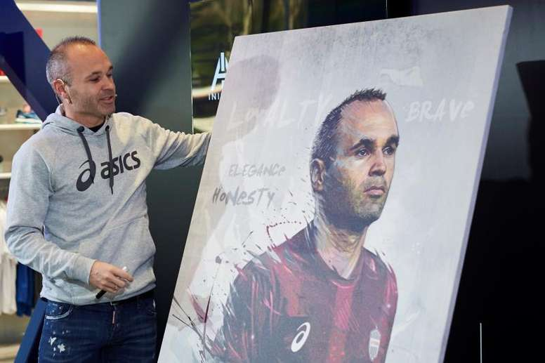 Iniesta could be looking to make the switch to coaching. EFE