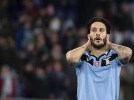 Luis Alberto, alma de la Lazio. EFE