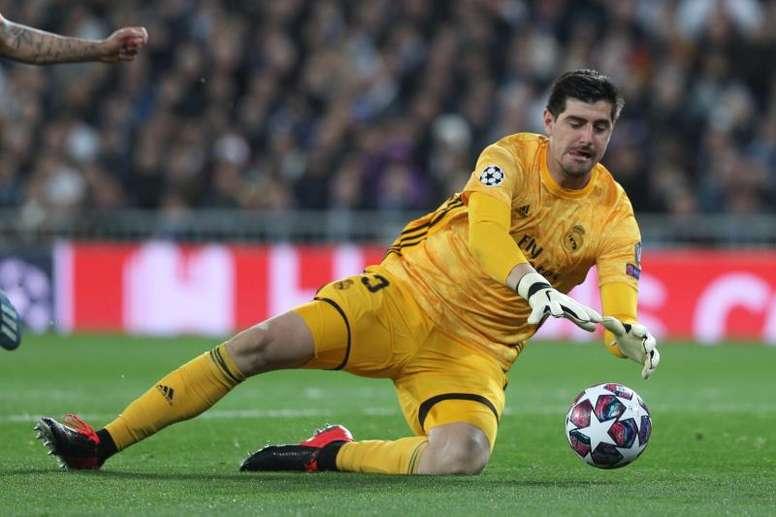Courtois é o goleiro com melhor média de gols sofridos na Liga. EFE/ Rodrigo Jiménez/Arquivo