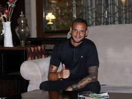 De la Cruz juega en Indonesia. EFE