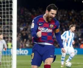 Lionel Messi seguirá no Barcelona até o fim do contrato. EFE/Quique García/Arquivo