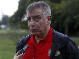 Almeida compartió su compleja fórmula matemática para parar penaltis. EFE