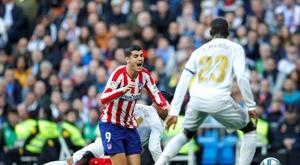 Morata, líder uma estatística nada boa. EFE/Emilio Naranjo