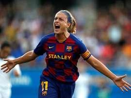 Alexia reclama el mérito de ser campeonas de Liga. EFE/Archivo