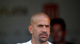 Verón, um dos líderes do último título nacional da Lazio, em 2000. EFE/ Demian Alday Estévez/Arquivo