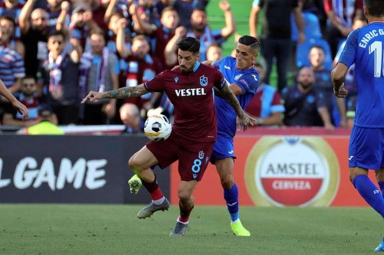El Trabzonspor le ofrece a Sosa la dirección deportiva. EFE/Archivo