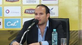 Ecuador cita a sus clubes para resolver la censura de Egas. EFE/Archivo