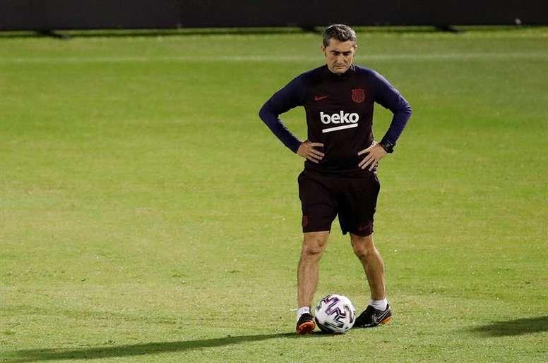 El 13 de enero de 2020 Valverde fue cesado como técnico 'culé'. EFE