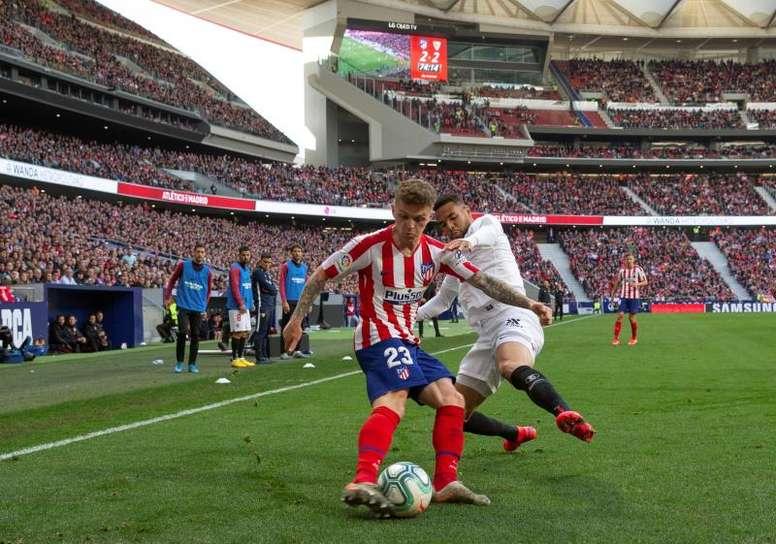Prováveis escalações de Atlético de Madrid e Sevilla. EFE