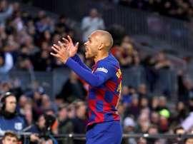 Braithwaite is happy Suárez is back. EFE