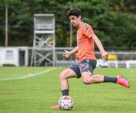 Sporting de Braga volta aos treinos. EFE/SC Braga