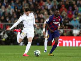 Umtiti will leave Barca this summer. EFE