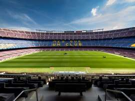 The Camp Nou could have fans back. EFE