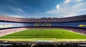 The Camp Nou could have fans back. EFE