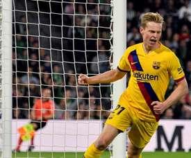 De Jong est rentré à Barcelone. EFE