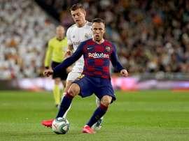 O outro motivo na troca entre a Juve e o Barça. EFE/Rodrigo Jiménez
