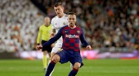 Luis Suarez commenta la stagione di Arthur. EFEaRT