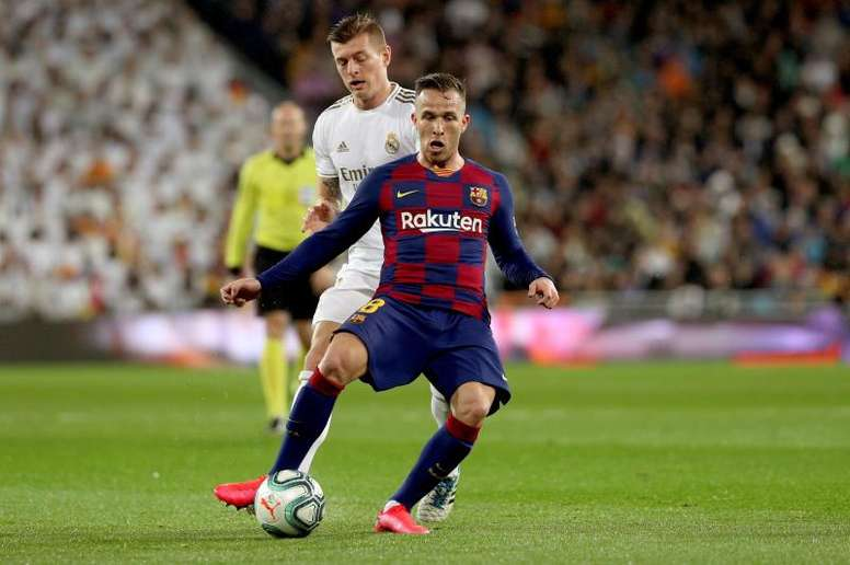 Arthur is closer to signing for Juventus. EFE