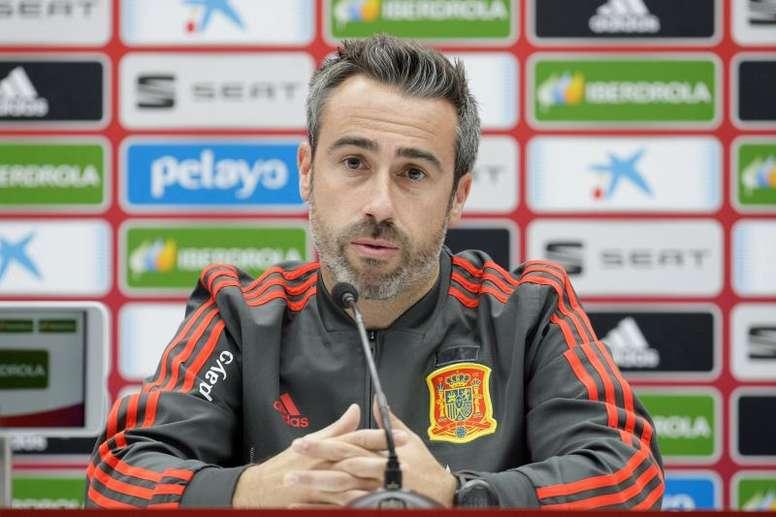Vilda espera llevarse los tres puntos del choque ante Moldavia. EFE