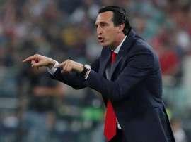 Unai Emery surge como candidato a comandar a Fiorentina. EFE