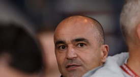 Roberto Martínez continuará en los 'Diablos Rojos'. EFE