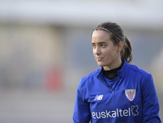 Marta Unzué espera que se retome la competición femenina. EFE