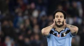 Luis Alberto is furious at Lazio's new plane. EFE