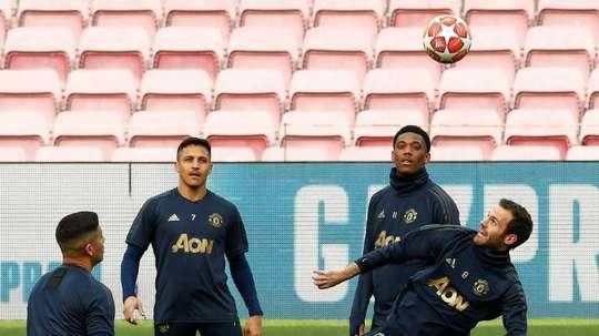 United will warn Rojo for breaking lockdown rules. EFE