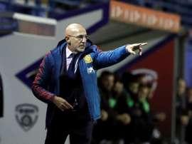 El entrenador de la Sub 21 tenía ganas de competición. EFE