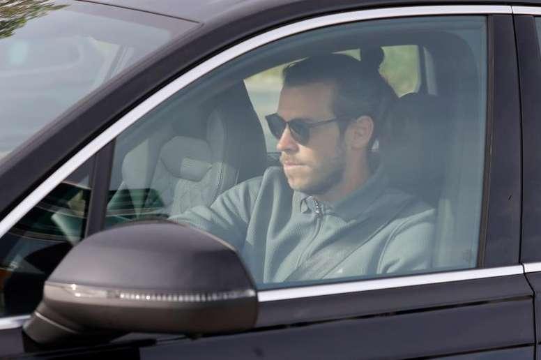 Aucun signe de Gareth Bale au centre d'entraînement du Real. EFE