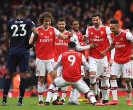 Premier League avança rumo ao retorno dos jogos. EFE/EPA/NEIL HALL/Arquivo