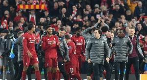 Liverpool está de olho em outra conquista. EFE/ NEIL HALL