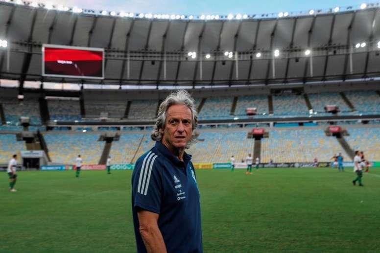 Benfica demite treinador e torcida sonha com Jorge Jesus. EFE/ Antonio Lacerda Archivo
