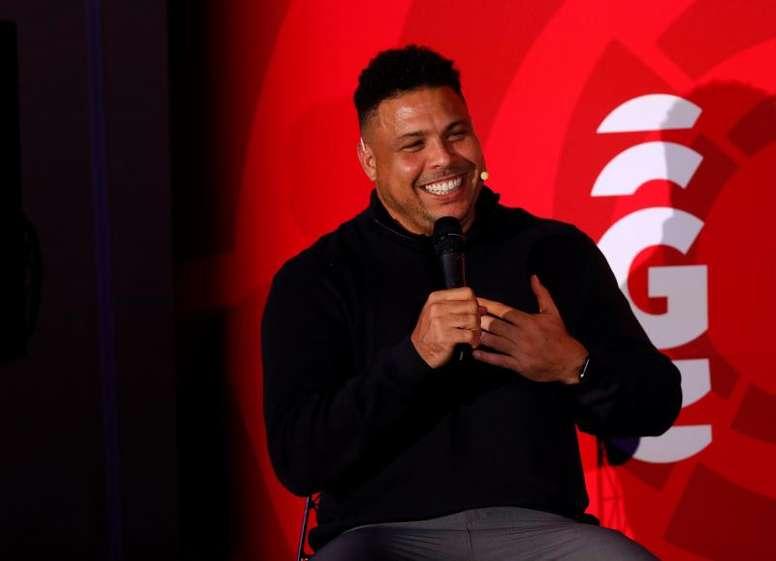 Ronaldo a expliqué comment il a amélioré son pied faible. EFE
