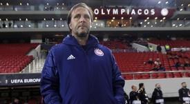 Pedro Martins renovó dos años con Olympiacos. EFE