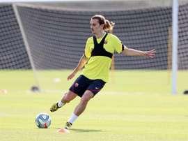 Griezmann veut jouer en MLS. EFE