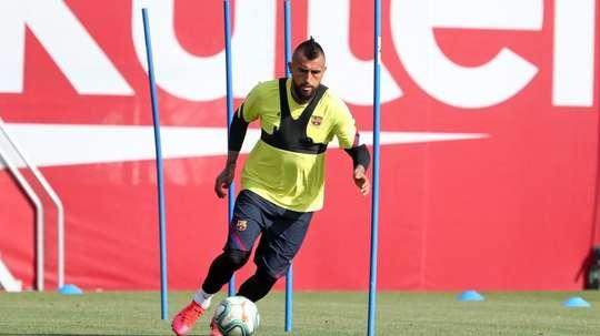 L'Inter Miami sème le doute autour de Vidal. EFE