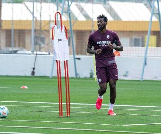 Anguissa plays down Real Madrid rumours. EFE/ Villarreal Cf