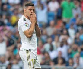 Jovic's agent meets with Napoli. EFE