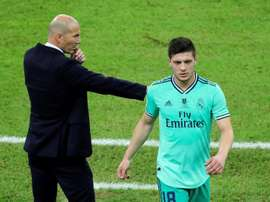 Jovic in isolation after a friend tests positive. EFE