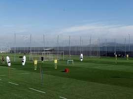 La Liga conferma cinque casi positivi. EFE