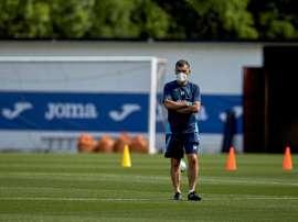 Mendilibar elogió al Cádiz y a su estilo de juego. EFE/LALIGA/Ion Alcoba Beitia